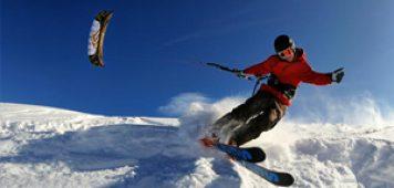 Snowkiting, Snowtubing